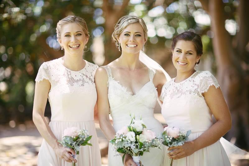 Portrait of the bridesmaids