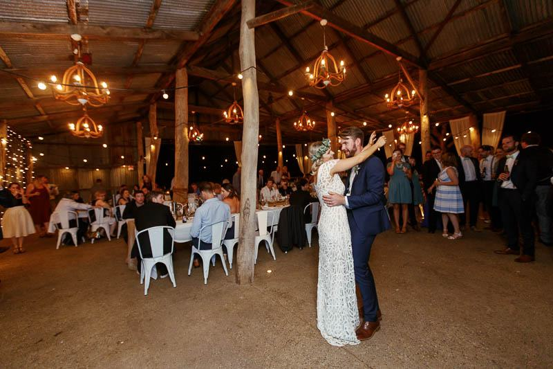 First dance for the husband and wife