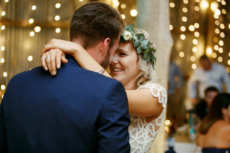 First dance together in the beautiful Barristers Block