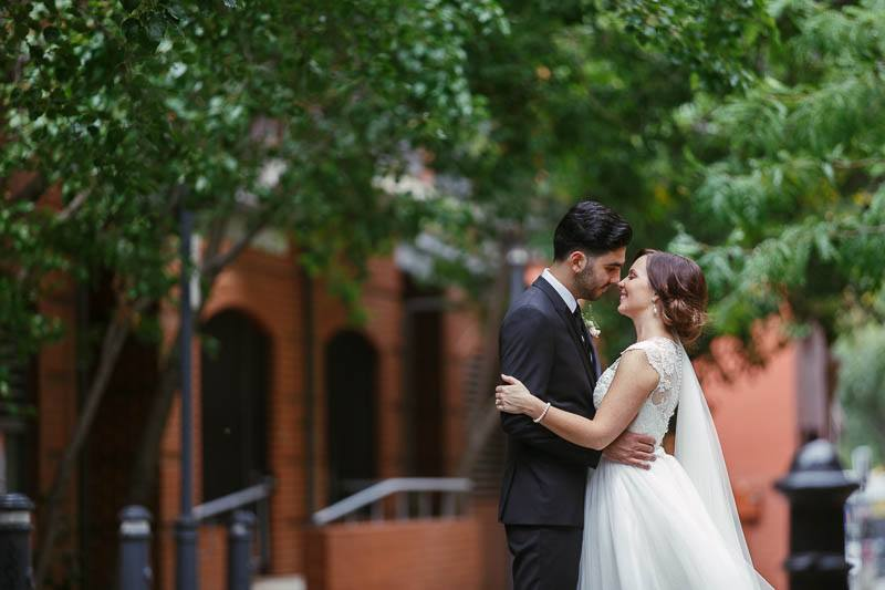 Wedding photos just off Ebenezer Place in Adelaide CBD