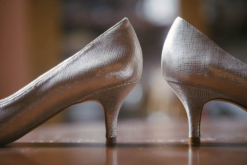 Details of the shoes