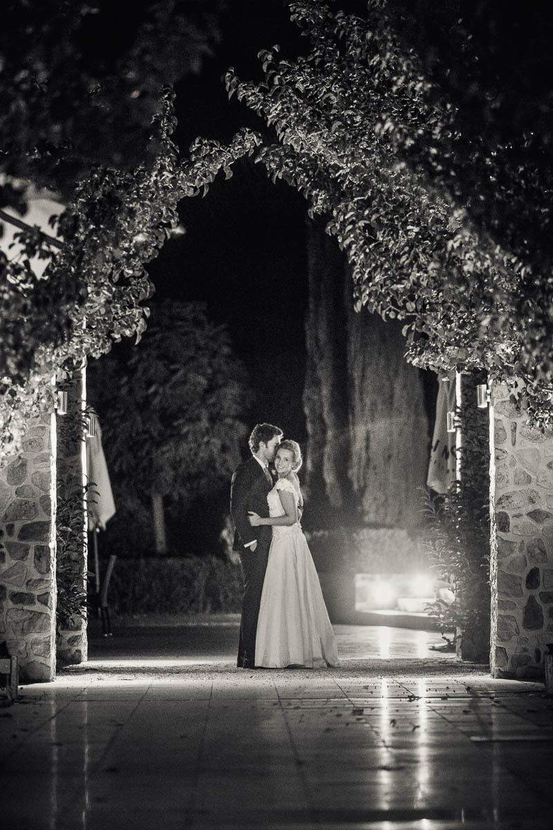 Bride and Groom night time photos outside, Photographed by James Field