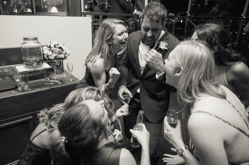 Guests on the dancefloor