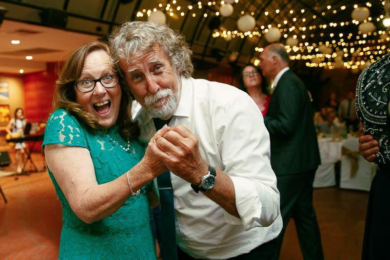 Parents of the groom on the dancefloor