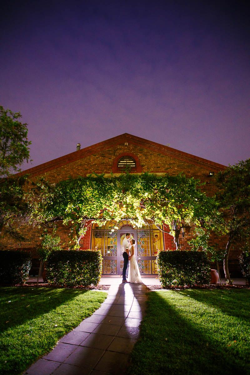 Night time photos at Serafino Winery, McLaren Vale