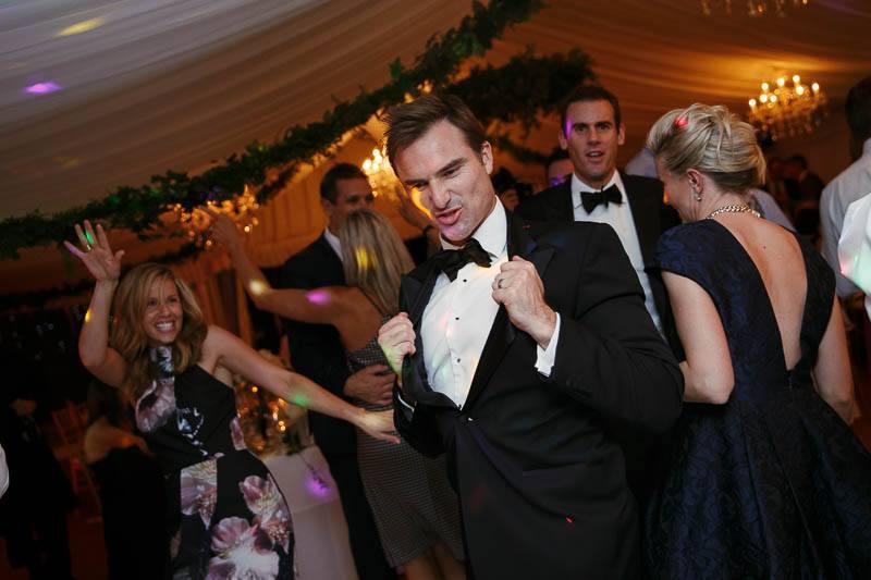 Groomsmen on the dancefloor